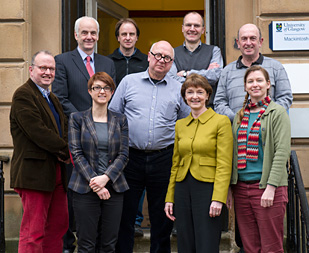 Group photograph of the project staff and Steering Group
