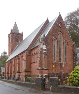 Colour photograph of Skelmorlie Parish Church from S.W.