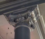 Photograph of Ionic capital, Wylie Hill's store