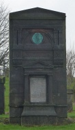 Photograph of Keppie family monument, Sighthill cemetery